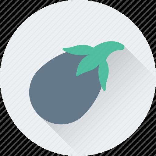 Aubergine, brinjal, eggplant, food, vegetable icon - Download on Iconfinder