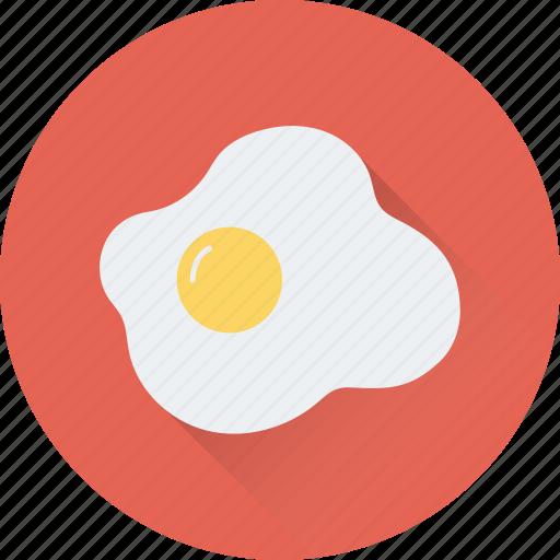breakfast, egg, food, fried egg, healthy icon