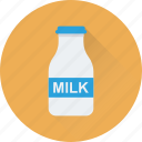 bottle, breakfast, liquor, milk, water icon