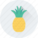 ananas, fruit, organic, pineapple, tropical icon