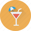 cocktail, drink, glass, margarita, wine icon