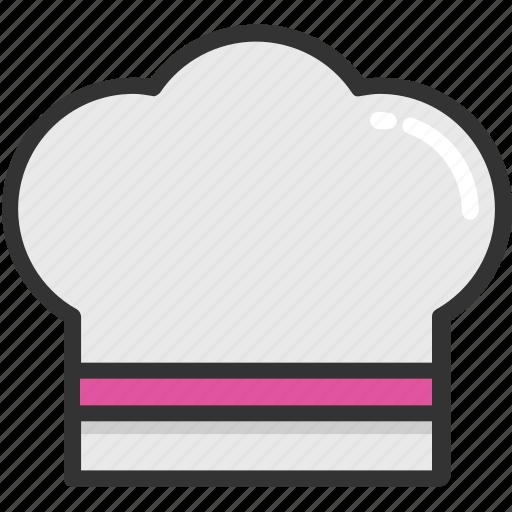 chef, chef hat, kitchen, restaurant, uniform icon