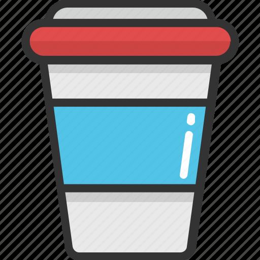 coffee cup, cold coffee, cup, disposable, espresso icon