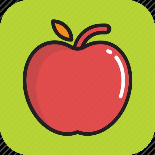 apple, diet, food, fruit, nutrition icon