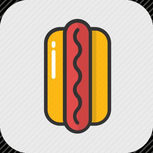 burger, fast food, food, hotdog, junk food icon