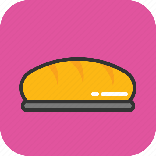 baguette, bread, breakfast, food, french bread icon