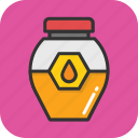 food, honey, jar, organic, sweet icon