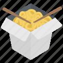 chopsticks, noodles, spaghetti, staple food, vermicelli