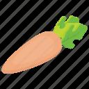 natural diet, organic food, radish, vegetable, white radish icon
