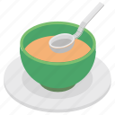 chinese soup, curry, gravy, soup, soup bowl icon