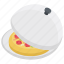 baked pizza, fast food, italian food, junk food, pizza icon