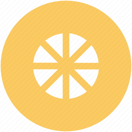 citrus, lemon, lemon slice, lime, orange slice icon
