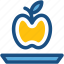 apple, food, fruit, healthy food, nutrition icon