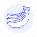 banana, food, fruits, vegetables icon