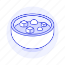 asian, bowl, cuisine, food, of, soup, stew, tofu icon