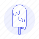1, cold, cream, food, ice, melting, pink, popsicle, sweet icon
