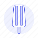 2, cold, cream, food, ice, orange, popsicle, sweet icon