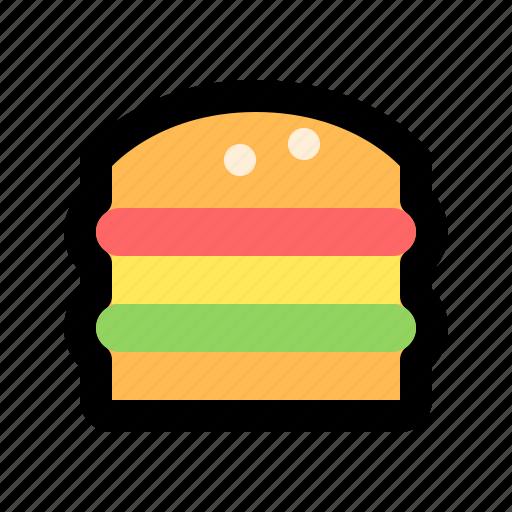 burger, cheeseburger, eat, fastfood, hamburger, meal, tasty icon