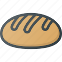 bakery, bread, eat, food icon