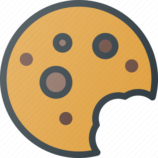 chocolate, cookie, eat, food icon