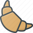 bakery, croisant, eat, food icon