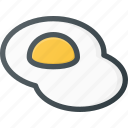 eat, egg, eggs, food icon