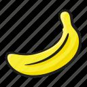 banana, diet, edible, fruit, healthy food, nutritious
