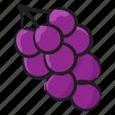 berries, edible, fruit, grapes, nutritious, vine fruit