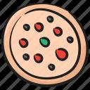 fast food, italian pizza, junk meal, pizza, pizza pie