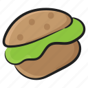 fast food, food, hamburger, junk food, patty burger