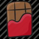 choco, chocolate, chocolate bar, confectionery, dessert, sweet