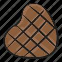 choco, chocolate, confectionery, dessert, heart chocolate, sweet