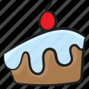 cake piece, cake slice, cream cake, dessert, sweet food