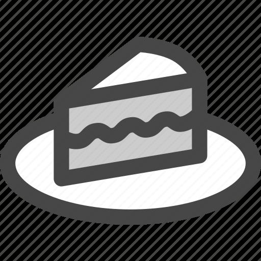 birthday, cake, dessert, food, party, slice icon