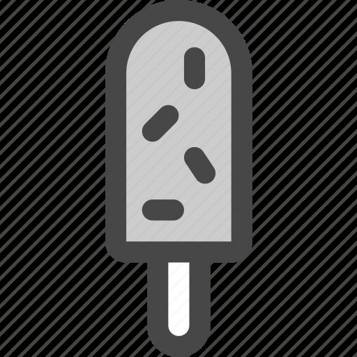 bar, cream, dessert, ice, popsicle, snack icon