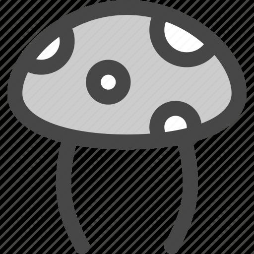 autumn, food, forest, fresh, fungus, mushroom icon