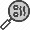 bacon, breakfast, cooking, egg, frying, pan icon