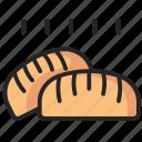 bakery, bread, food, meal