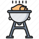 chicken, easter, food, roasted icon