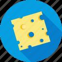 cheese, food, piece, restaurant, salad