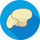 eating, food, ingredient, mushroom, restaurant, salad icon