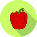 pepper, bell peppers, capsicum, salad, vegetable icon