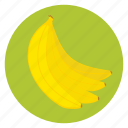 banana, food, fruit, healthy, lunch, snack