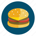burger, cheese, dinner, food, meal, order icon