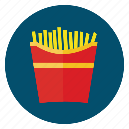 fast-food, food, french, fries, order icon