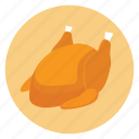 dinner, food, meal, roasted, thanksgiving, turkey icon
