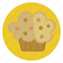 bake, cupcake, food, sweet icon