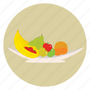 banana, bowl, food, fruit, healthy icon