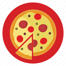 delivery, dinner, food, meal, order, pizza icon