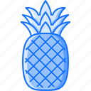 cooking, food, fruit, pineapple, shop, supermarket icon